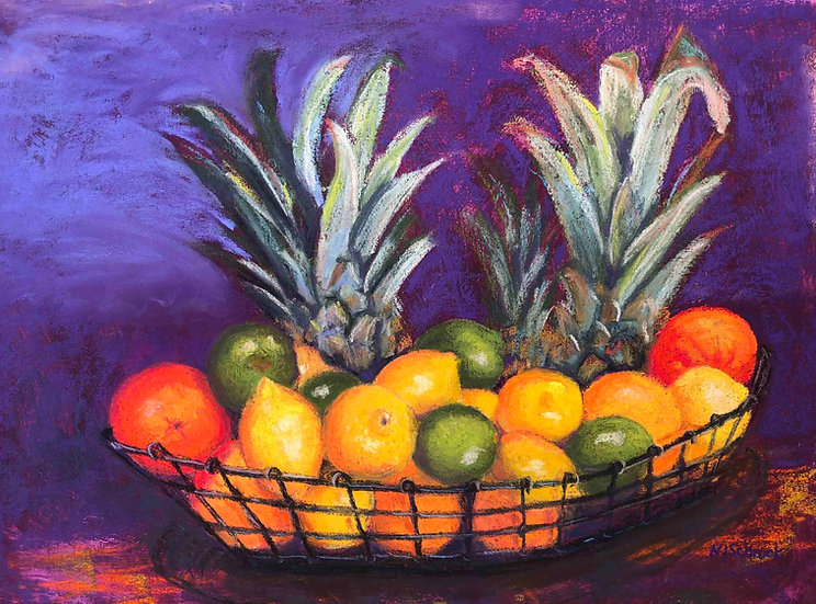 Citrus Basket by Nancy Schrock