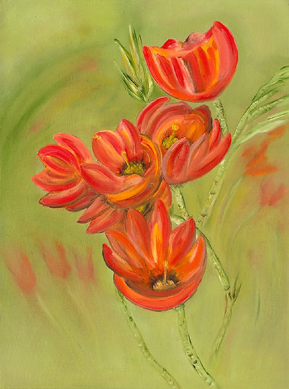 Blooms Abound by Patricia Cream