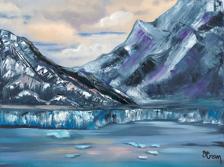 Hubbard Glacier by Patricia Cream