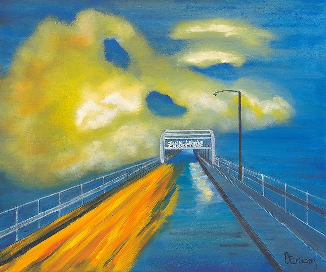 John Lewis Crossing by Patricia Cream
