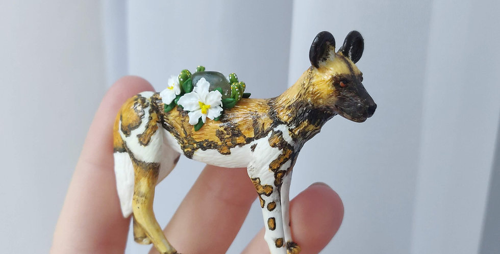 Afrikanischer Wildhund / Figur