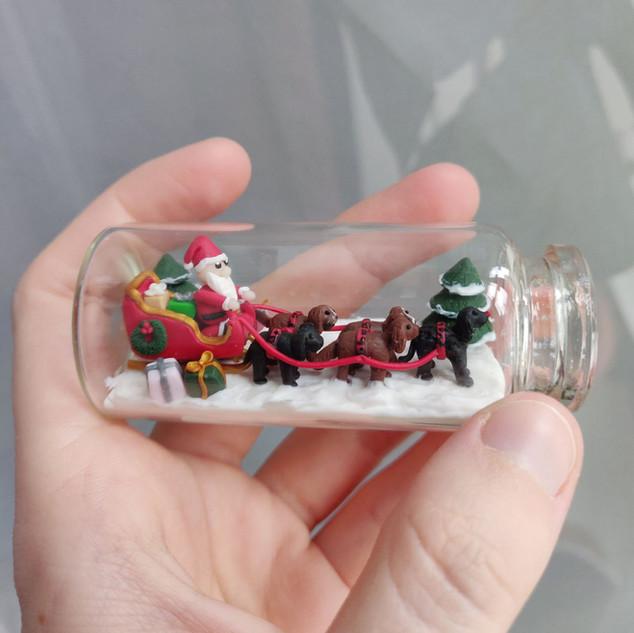Weihnachtsschlitten/ Spezialanfertigung