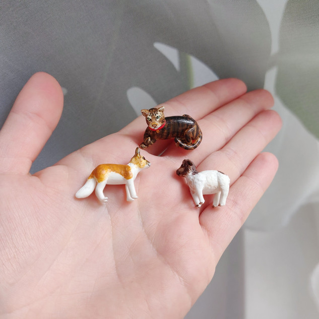 Miniaturtiere / Spezialanfertigung