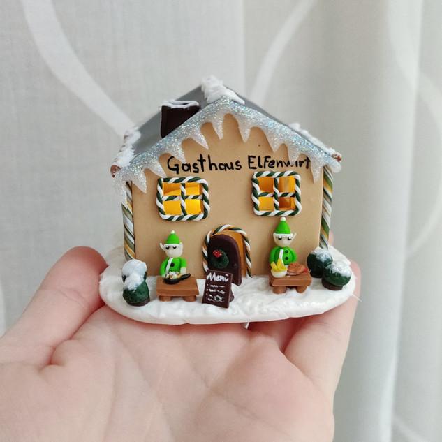 Weihnachts-Gasthaus / Spezialanfertigung
