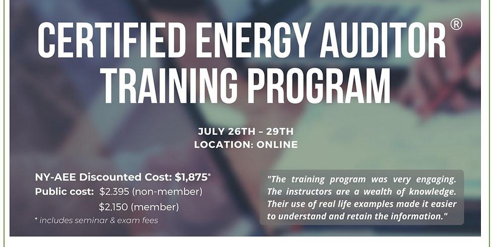 Course: Certified Energy Auditor Training Program & Exam