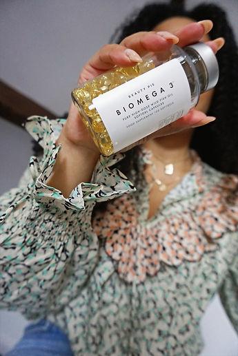 Nutritionist Kay Ali Formulator of Beauty Pie BiOmega 3 fish oil supplements