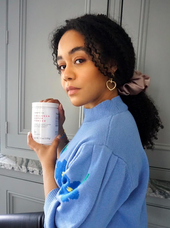 Nutritionist Kay Ali with Beauty Pie Collagen Super Powder