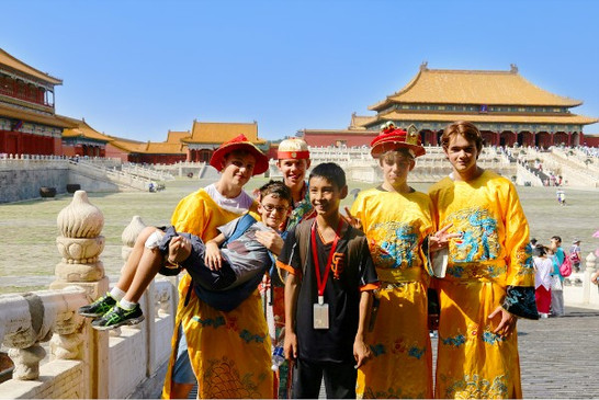 Imperial Roleplay at Forbidden City