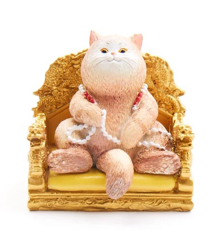 The Palace Museum Cultural & Creative Product: Royal Cat (Throne Cat)