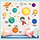 Thumbnail: Cartoon Decoration Sticker 2