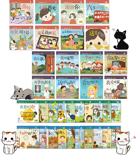 Smart Cat for Kid Package (Level 1-4, 36 books included)