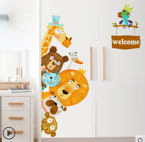 Cartoon Decoration Sticker 1