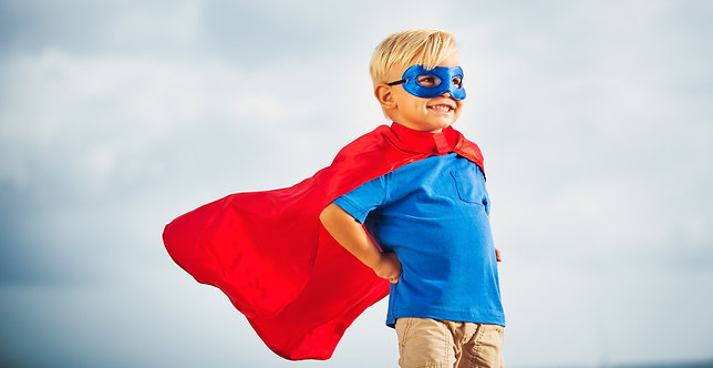 Superhero Teaching Materials Package (Flash Cards, Word Card, etc.)