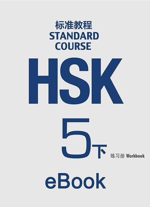 eBook: HSK Standard Course 5B Workbook