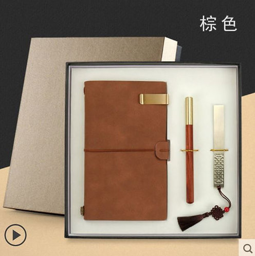 Chinese Traditional Notebook Gift Box