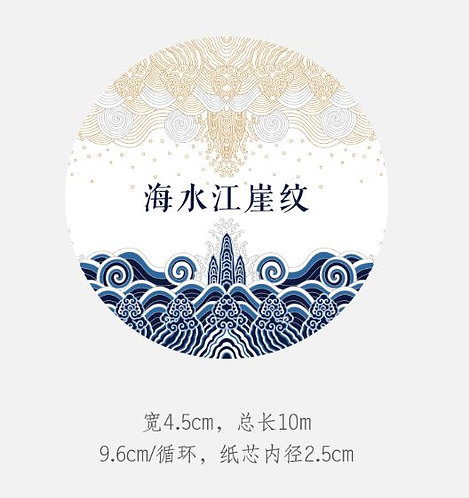 The Palace Museum Cultural & Creative Product: Decoration Tape Package