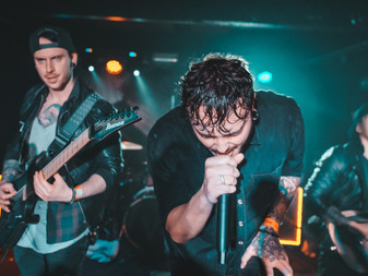 InVisions w/ On Hollow Ground and Captives  | The Key Club | Leeds