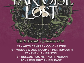 Live Review: Paradise Lost w/ Outshine, King Goat | Rescue Rooms, Nottingham | 18.02.18