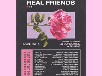Live Review: Real Friends w/ Grayscale & Belmont   Thekla, Bristol   17/10/19