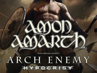 Live Review: Amon Amarth, Arch Enemy & Hypocrisy | 02 Acadamy, Brixton, London | 30.11.2019
