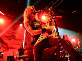 Children of Bodom w/ Forever Still and Oni at Shepherds Bush, London.