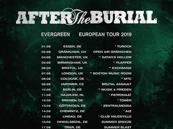 Live Review: After The Burial w/ From Sorrow To Serenity, Ghost Iris, & Overthrone | The Flapper