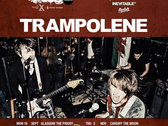 Live Review: Trampolene w/North Parade/Local Enemy And Dead!   The Moon, Cardiff   02/11/2017