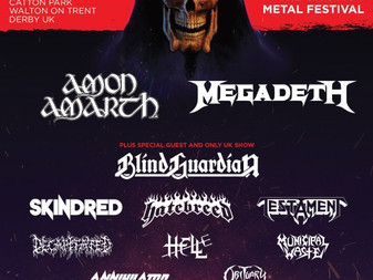 Megadeth to Headline Bloodstock 2017!