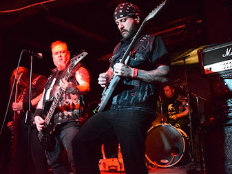 Onslaught w/ Beholder & Anihilated at Fuel Rock Club - 8/11/16