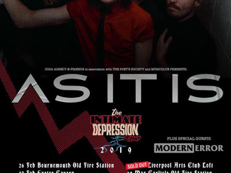 Live Review: As It Is w/ Modern Error | Liverpool Arts Club | 07/03/2019
