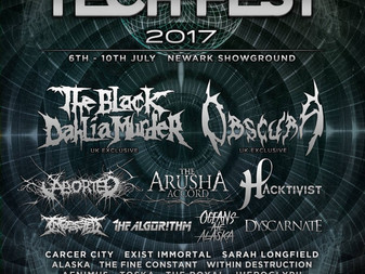 Black Dahlia Murder to Headline Tech-Fest 2017!