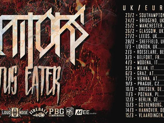 Live Review: Traitors w/Lotus Eater & Upon Those Dying | Hobos, Bridgend | 24/02/18