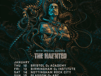 The Haunted added to Meshuggah's UK 2017 tour!