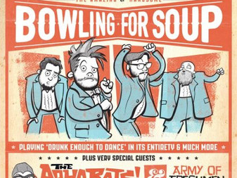 Revival of The Get Happy Tour | Bowling for Soup, Aquabats and Army of Freshman!