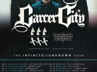 Carcer City announce more dates and supports for EU/UK Headline Tour