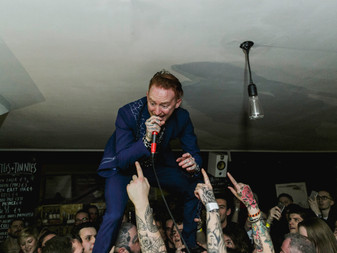 Frank Carter and The Rattlesnakes at Rough Trade Record Shop