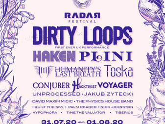 Second Wave of Bands announced for RADAR Festival