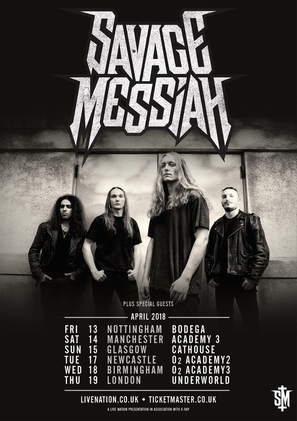 Live Review: Savage Messiah w/ The Raven Age | Nottingham