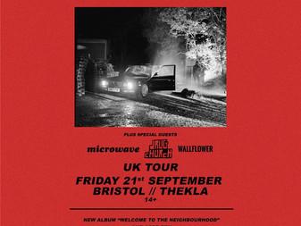 Live Review: Boston Manor w/ Microwave, Drug Church & Wallflower   Thekla, Bristol   21/09/18