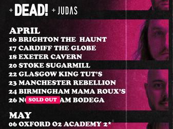 Live Review: Mallory Knox w/ Dead! & Judas   24/04/18   Mama Roux's, Birmingham