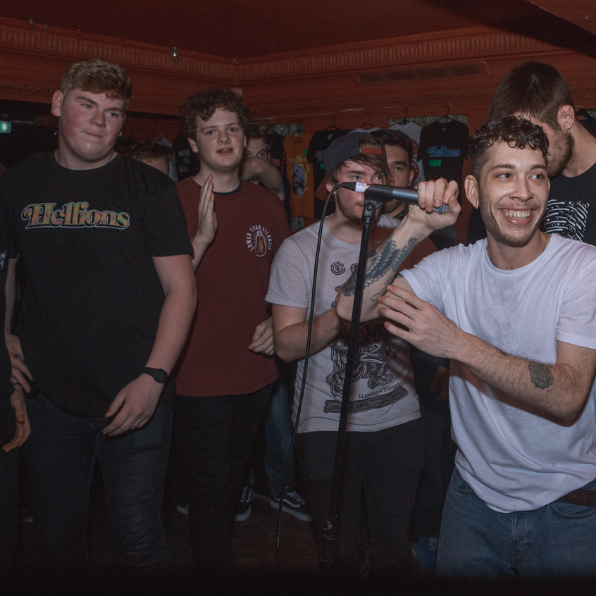 Hellions - Red Rooms - 22-02-17 - Nottingham-3