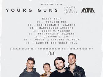 Lower Than Atlantis Set To Embark on UK Tour