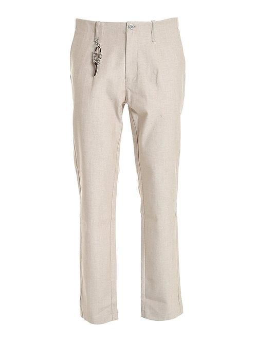 R92 D-BE Pantalone una pence beige