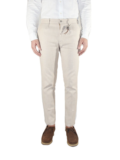 Pantalone denim beige R92 D-BE