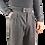Thumbnail: R107 LA-GG Pantalone classic fit lana gessato grigio