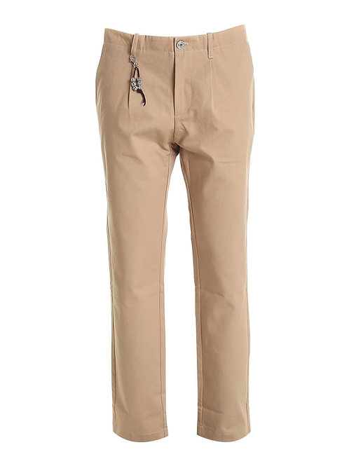 R92 C-BE Pantalone una pence beige