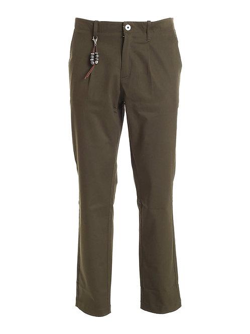 R92 C-VV Pantalone una pence verde militare