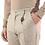 Thumbnail: R106 C-BRS Pantalone slim fit gessato bianco/beige