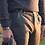 Thumbnail: R106 LA-GG Pantalone slim fit gessato grigio