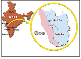 Location-of-the-state-of-Goa-on-Indian-m